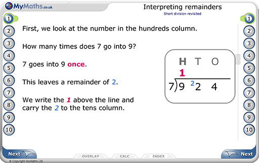 Secondary MyMaths introducing complex numbers lesson sample