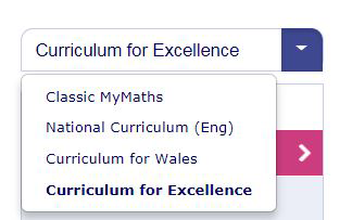 Primary Curriculum Selector - CfE Scotland
