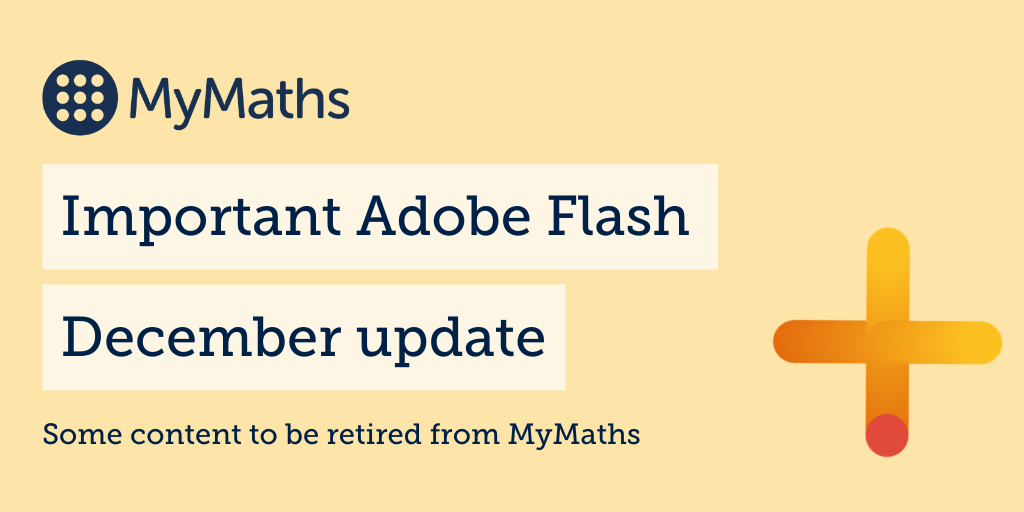 Important update – retirement of remaining Flash content  on MyMaths